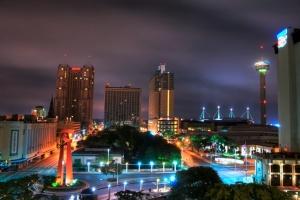 San Antonio skyline morning HDR - Version 2